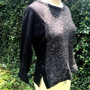 Lack Color Block Madewell Sweater